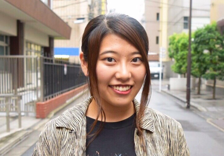 笑顔がかわいい! 法研・なつき|日本大学|campus graffiti