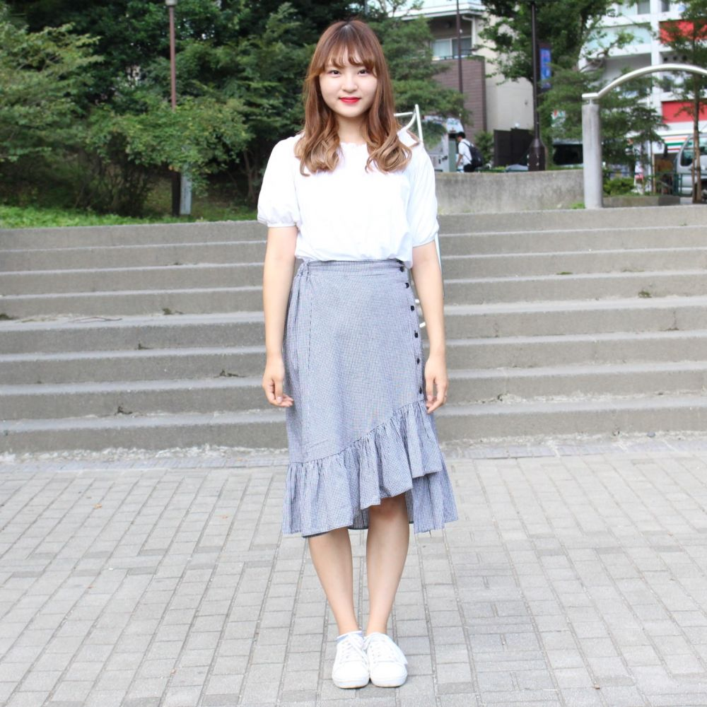 韓国ファッションがかわいい!ブリピンのなぁめろ|早稲田大学|campus